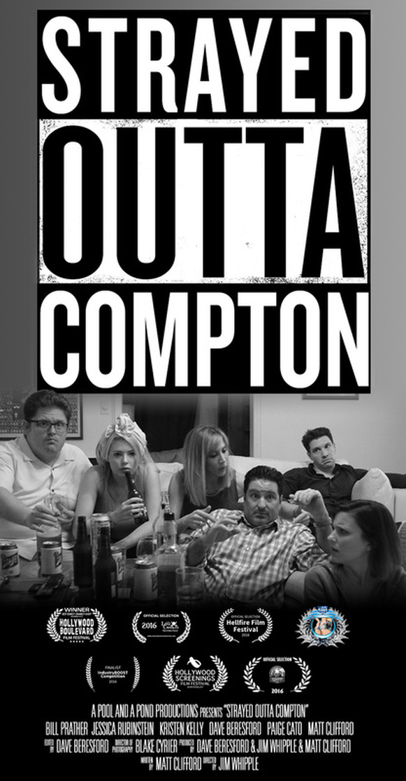 Strayed Outta Compton poster.