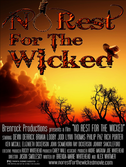 No rest for the wicked poster