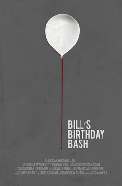 Bill's Birthday Bash Poster