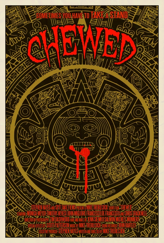 chewed poster