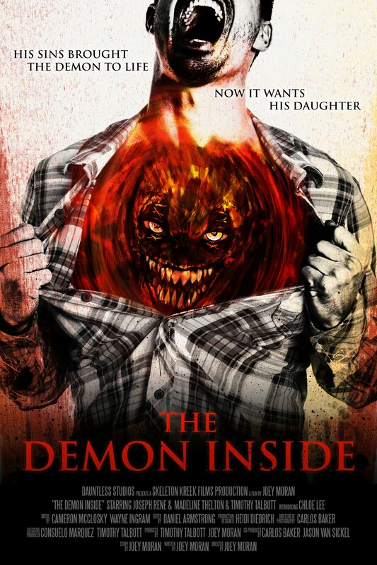 The Demon Inside poster