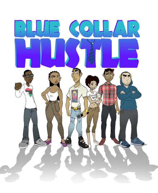 Blue Collar Hustle poster