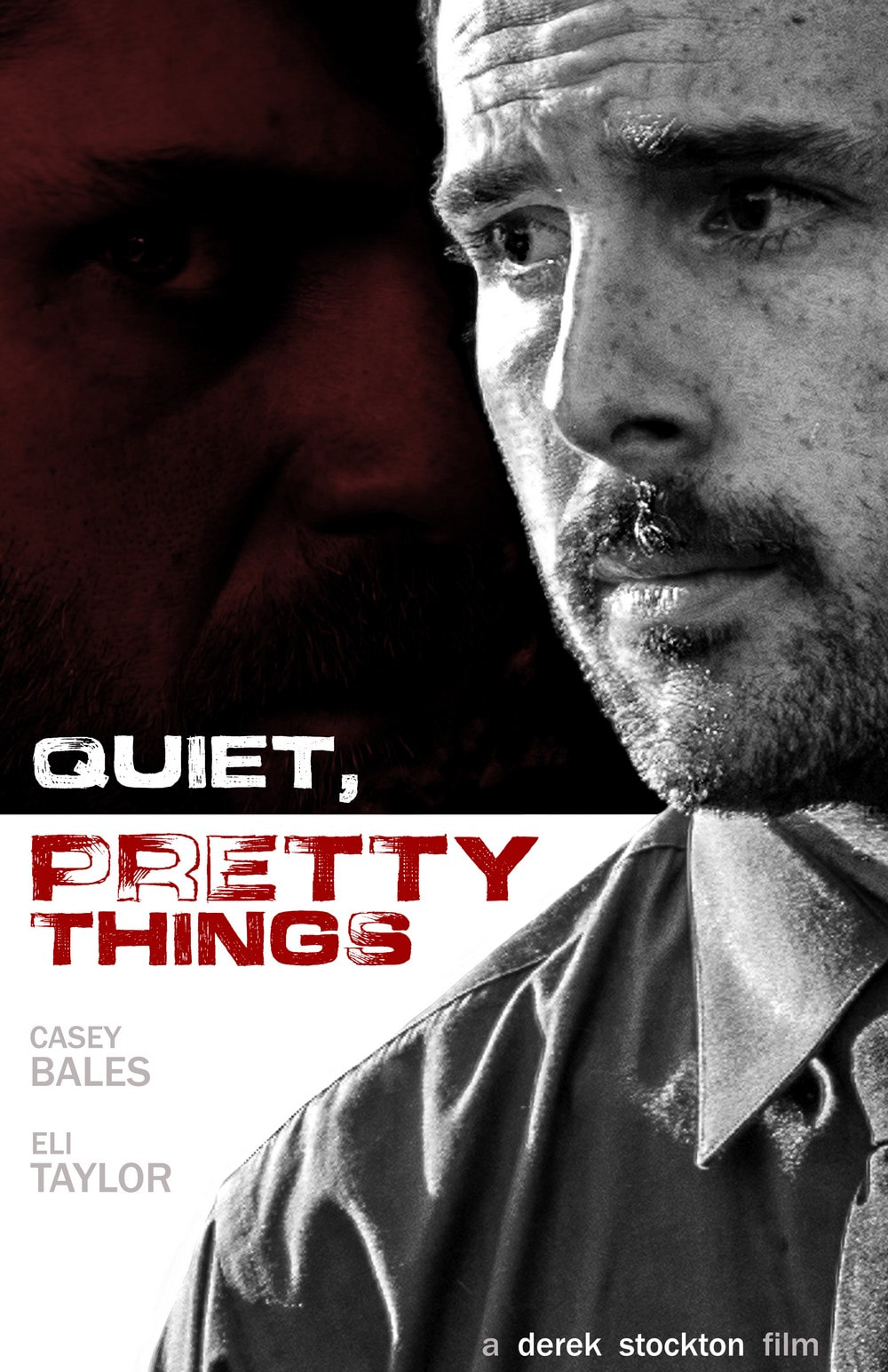 Quiet, Pretty Things poster.
