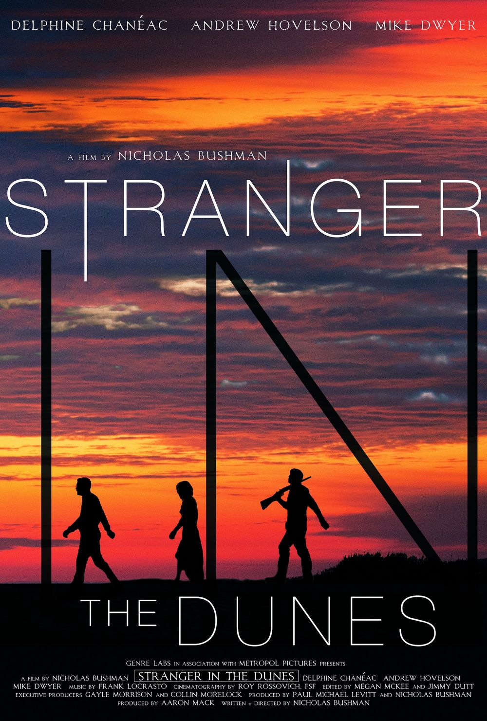 Stranger in the Dunes Poster